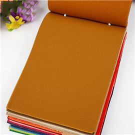 荔枝纹沙发皮革人造革软包皮革面料厚硬包布料004