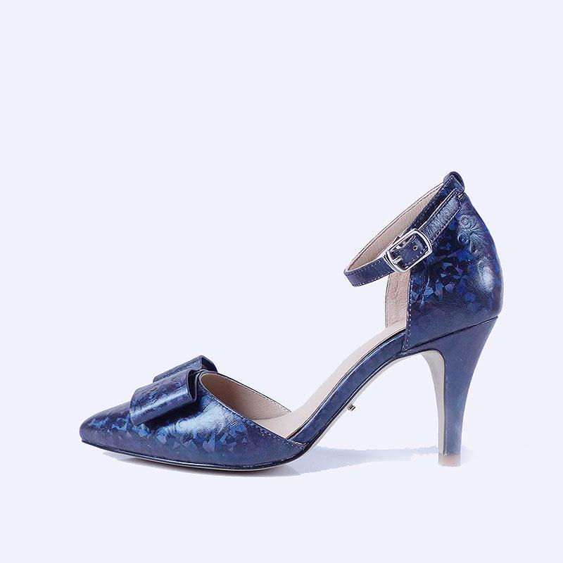 伯昇炫彩女鞋印花女鞋高跟涼鞋一字帶多色涼鞋BS117