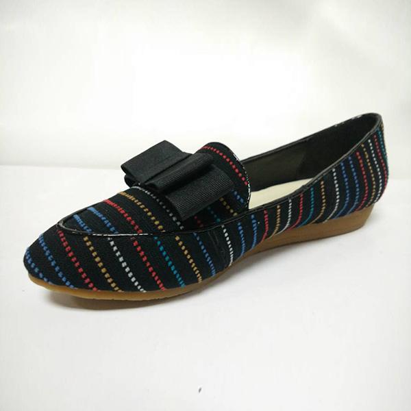 Casual female shoes BS-XX011 BosHeng Shose Sharp Flat bottom Women's shoes