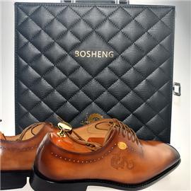 【伯昇】男士商务正装皮鞋 高端时尚大气正品皮鞋