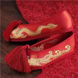 伯昇|婚礼鞋|BSF-19689|复古风平底鞋