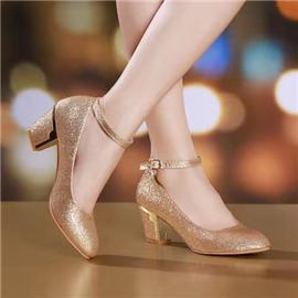 伯昇|婚禮鞋|BSF-19889|格麗特粗跟鞋圖片