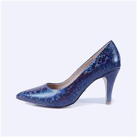 伯昇炫彩女鞋印花女鞋女單鞋多色女鞋BS036