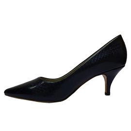 2016伯昇鞋业 BS-XC617 新款细跟尖头高跟鞋,伯昇墨绿蛇皮纹女高跟鞋