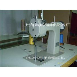 寅珑牌PK201型特细筒立柱缝纫机(贴皮条)