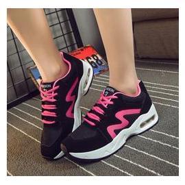 韩版运动鞋女鞋春秋款百搭时尚单鞋低帮潮鞋减震气垫鞋跑步鞋女
