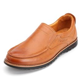 休闲真皮男鞋|巴立顿|创源鞋业