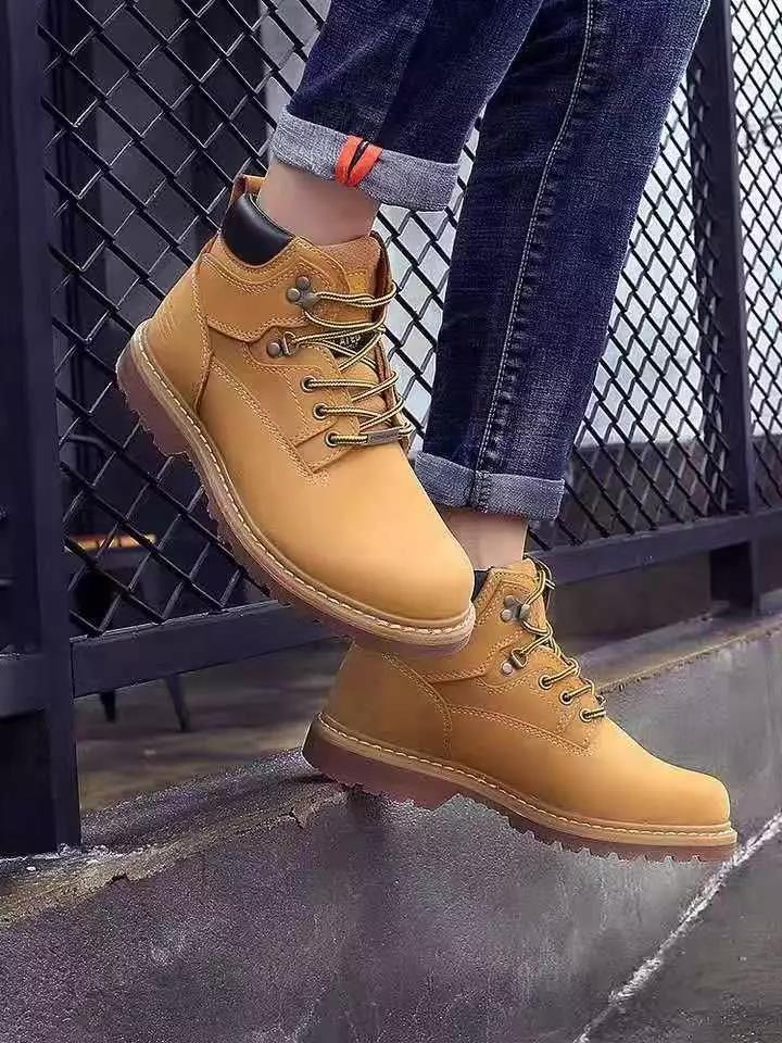 男人一穿多年的工装靴背后,是越穿越有味道