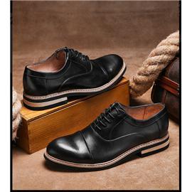 pathfinder新款正裝商務休閑皮鞋圖片