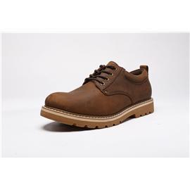 pf马丁靴男英伦风真皮工装鞋户外春季时尚大黄雪地靴复古沙漠靴