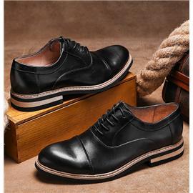 pathfinder新款正装商务休闲皮鞋