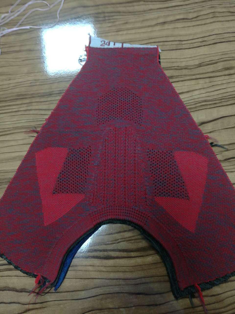 KTS019  3D flying shoe upper Shoe upper Customizing flying shoe upper Shoe manufacturer wholesale