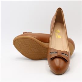 诗璇时尚蝴蝶结矮坡跟女式休闲鞋