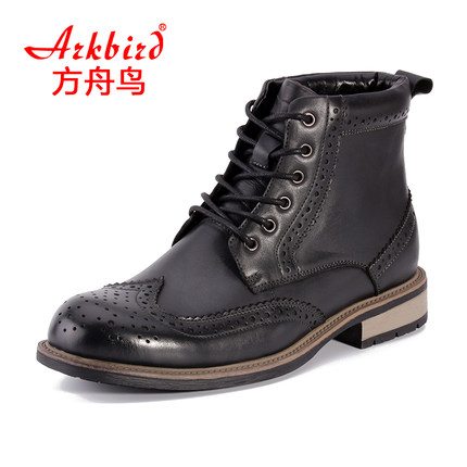Ark bird 2016 new leather men Martin boots Bullock England boots high boots for men's casual style