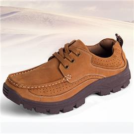 方舟鸟秋季真皮工装男鞋男士英伦户外休闲鞋流行系带男式皮鞋