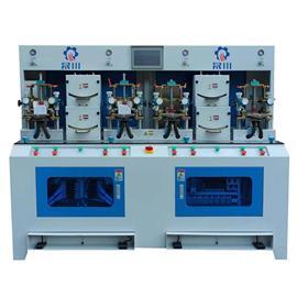 PLC鞋頭四冷四熱定型機(精致型)|晟川機械