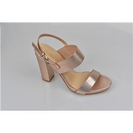 家新鞋业Carson PU+蕾丝鞋面 橡胶底 晚装宴会、女式高跟 淑女鞋、凉鞋