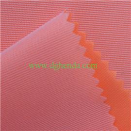 网纱贴合粉色TPU膜用于风衣|普通贴合|热熔胶复合