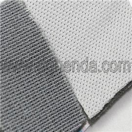 白色220gBK布料贴合3mm海绵贴合白28G特里科得 |普通贴合|鞋材贴合厂