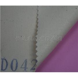达恒D042纯棉斜纹布上热熔粉点定型布