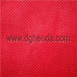 红色十字纹尼龙坎培拉 |普通贴合|恒达定型布
