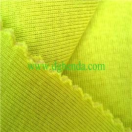 黄纯棉针织布火焰复合海绵|靴用定型布|恒达定型布