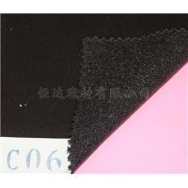 达恒C06双面针织布上热熔点胶定型布