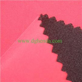 塔丝隆面料PUR热熔胶复合TPU膜复合摇粒绒|抗油定型布|布料复合