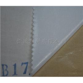 达恒B17白牛津布上自粘冷贴定型布