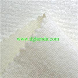 白色毛巾布热熔胶复合乳白TPU膜|靴用定型布|恒达定型布