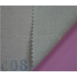 达恒C08起毛布上热熔点胶靴用定型布