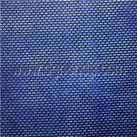 蓝色一字纹坎培拉|普通贴合|热熔胶复合图片