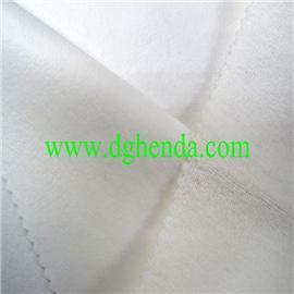白毛巾布贴合白TPU膜|靴用定型布|恒达定型布|