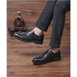 真皮男士单鞋 正商务皮鞋男图片