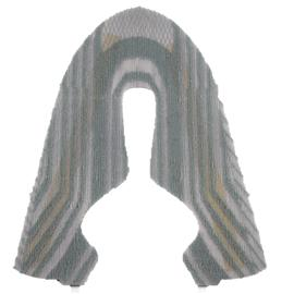 GSE-E18-024贾卡鞋面丨飞织鞋面丨三明治网布