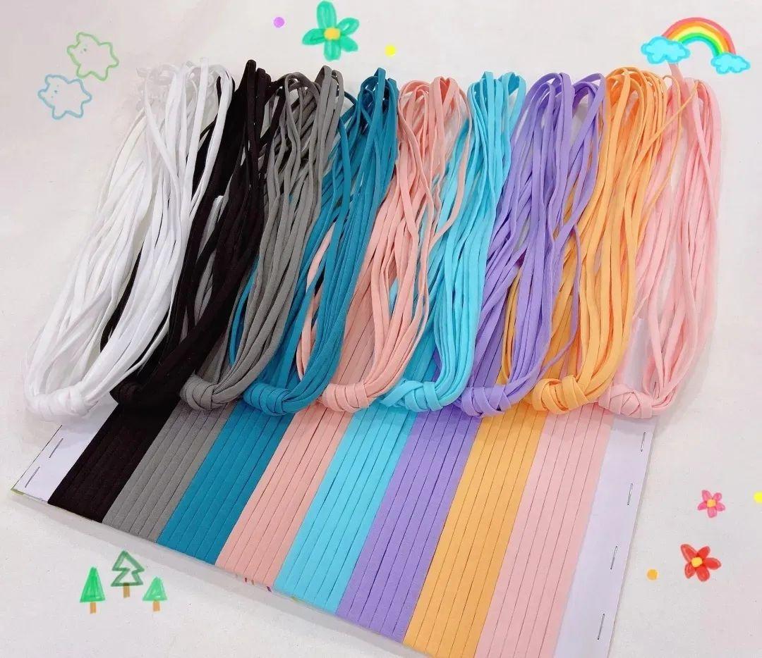 【鸿亿织带】金丝花边织带&彩色口罩耳带,细节为王!