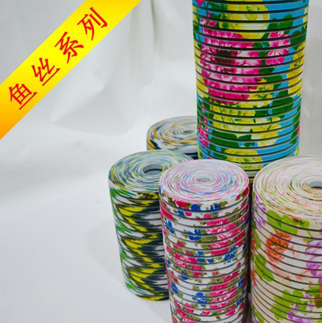 【优品推荐】品牌鸿亿缤纷的鱼丝织带,织带,特殊织带