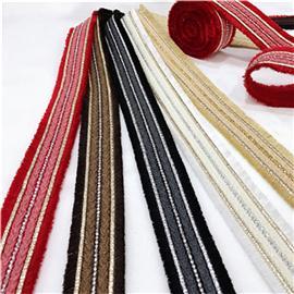 环保织带、鞋材辅料、特殊织带