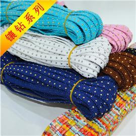 镶钻织带、松紧带、特殊织带