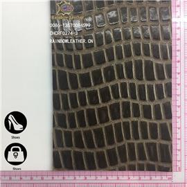 [彩鴻]廠家直銷胎牛皮 小長方格水染油臘整張牛皮可用于箱包、鞋