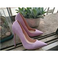 时尚女性高端女鞋真皮材质图片