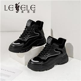 LESELE 莱思丽冬新款时尚秋冬绒毛耐磨冬靴LD7510