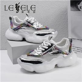 LESELE|莱思丽2021夏季新款时尚休闲老爹鞋LA7942图片