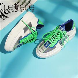 LESELE|莱思丽网红松糕底女单鞋休闲韩国老板娘新款厚底彩色运动鞋|MA9179