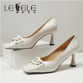 LESELE|莱思丽2021秋季时尚方头舒适时装鞋MA90072