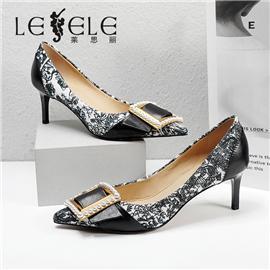 LESELE|莱思丽2021秋季复古英伦风时装鞋LC7929