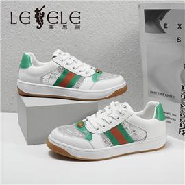 LESELE 莱思丽2021春季新款时尚拼接潮流运动休闲鞋 LA8398
