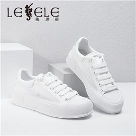 LESELE|莱思丽2021秋季时尚百搭青春小白鞋LA8386