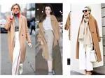 穩重又溫柔的駝色最是適合秋冬,駱色大衣又該如何正確搭配?