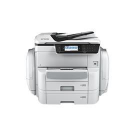 Epson WF-C869Ra A3+彩色商用墨仓式复合机*1  彩色标签机 标签定制打印机